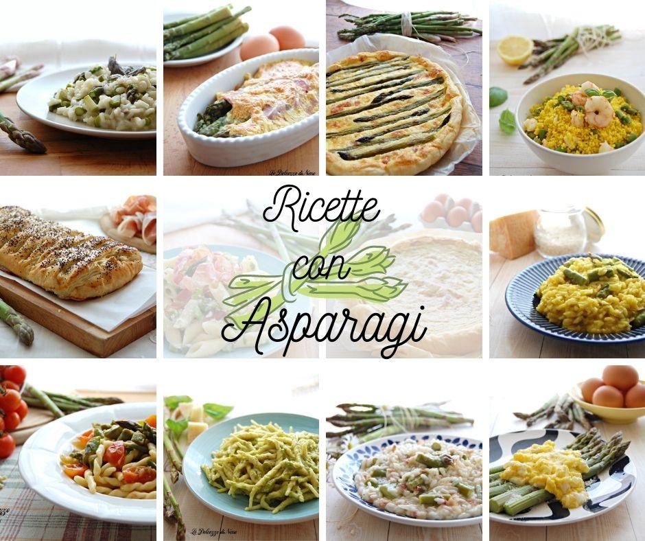 ricette con asparagi verdi freschi