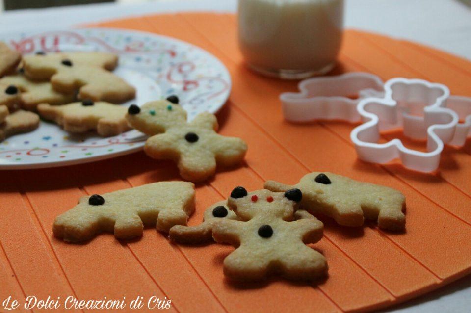 I biscotti per bambini, fatti dai bambini