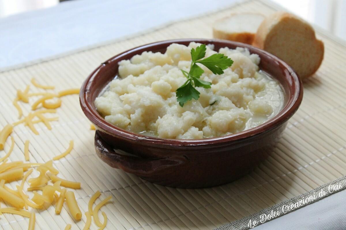 Zuppa di Cavolfiore, fonte di vitamina C