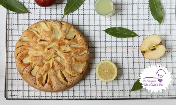 Torta di mele e limoncello
