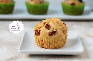 muffin con pomodori secchi