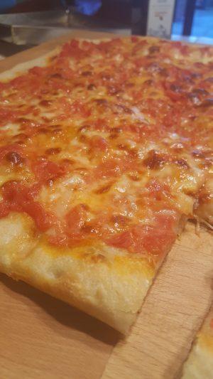 pizza con pasta madre
