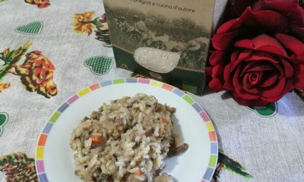 RISOTTO PORCINI SALSICCIA  (Fedro gusto autentico)
