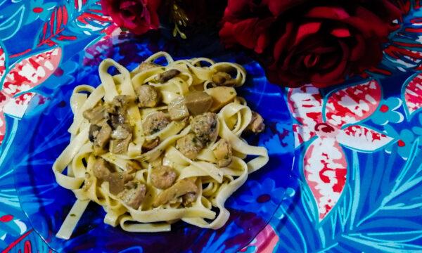 TAGLIATELLE  AUTONNALI (Pasta Nonna Lina)