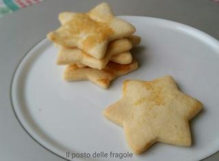 Biscotti di frolla con fecola