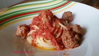 spaghetti bella notte