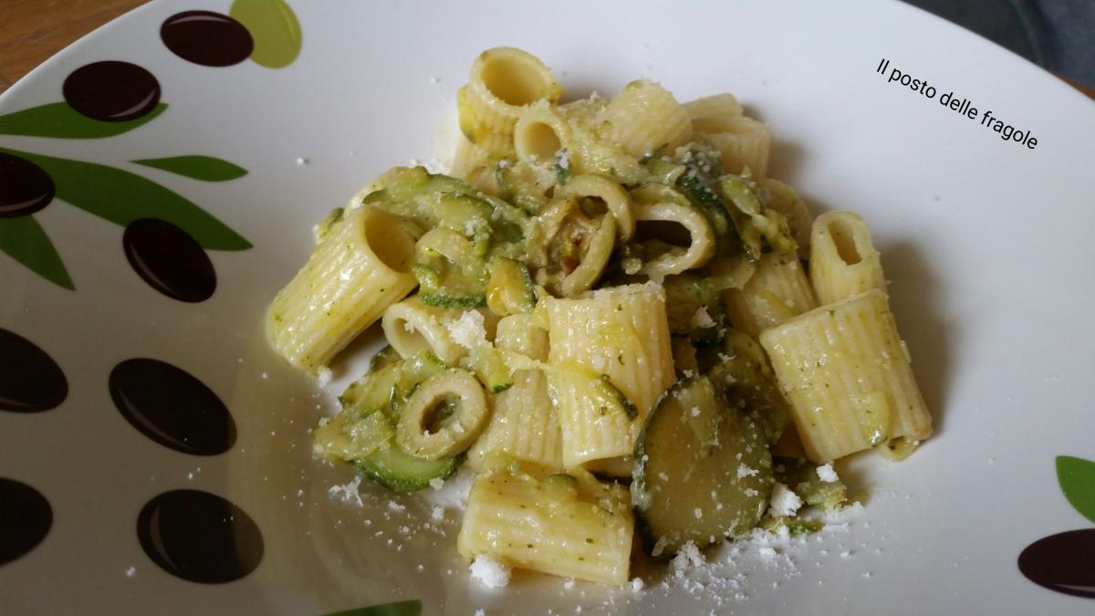 Ricetta pasta con zucchine trifolate