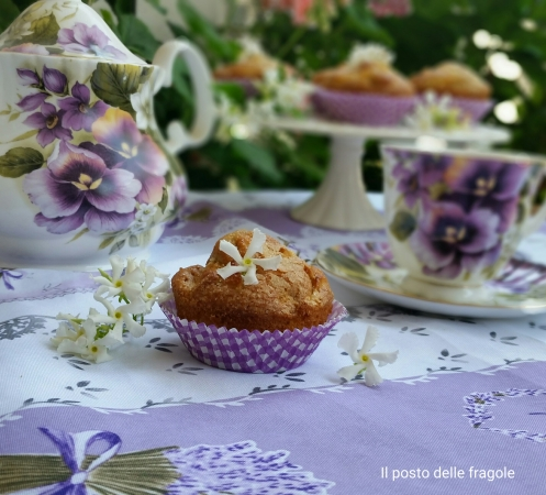 muffin al gelsomino