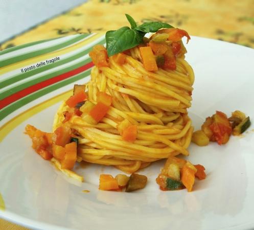 spaghetti ai profumi dell'arto