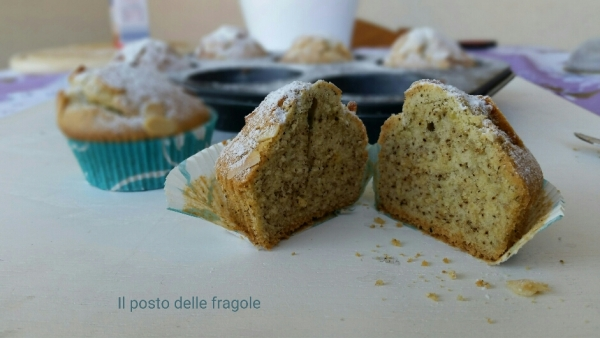 Muffin alla polvere di the