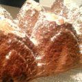 plumcake con nutella e mandorle
