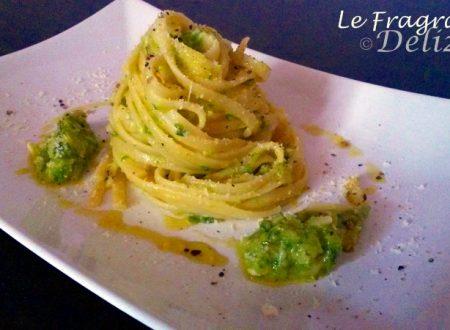 Linguine alla Crema di Zucchine e Primo Sale