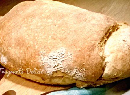Filone di pane casareccio