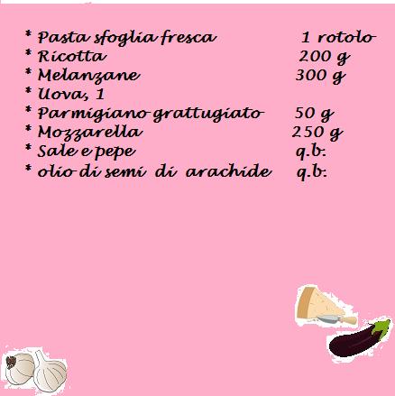 Tabella p'er ingredienti - Copia