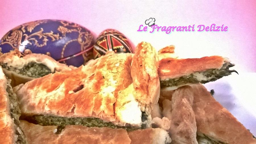 Torta Pasqualina con spinaci