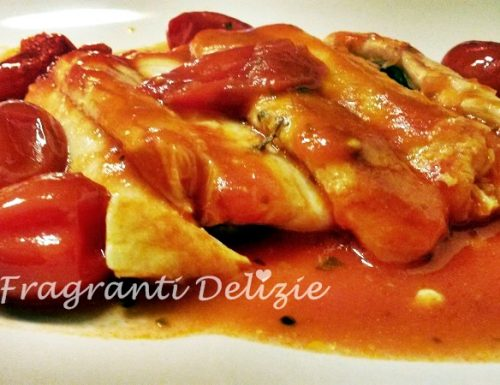 Filetto di pesce Spatola al pomodoro