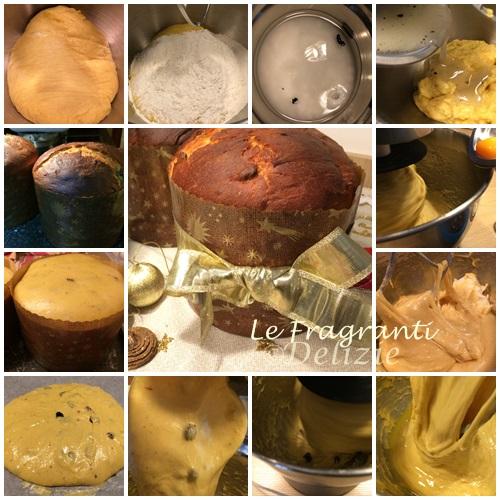 panettone milanese senza canditi ricetta home made