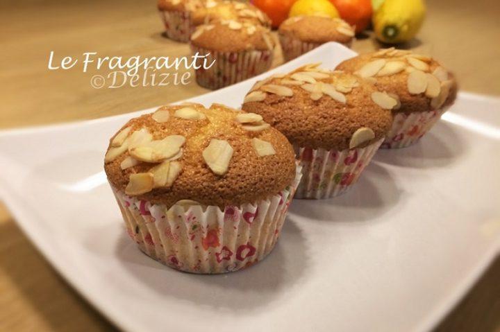 Muffin agrumi mandorle
