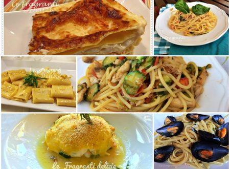 Primi piatti raccolta di ricette di pesce