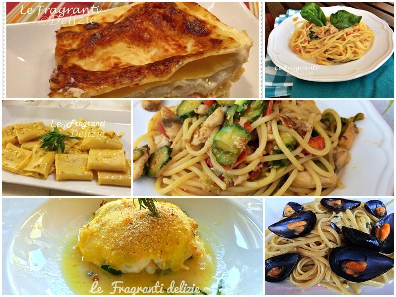 Primi piatti raccolta di ricette di pesce le fragranti for Primi piatti di pesce ricette