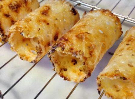 Cannoli di Parmigiano Reggiano ripieni