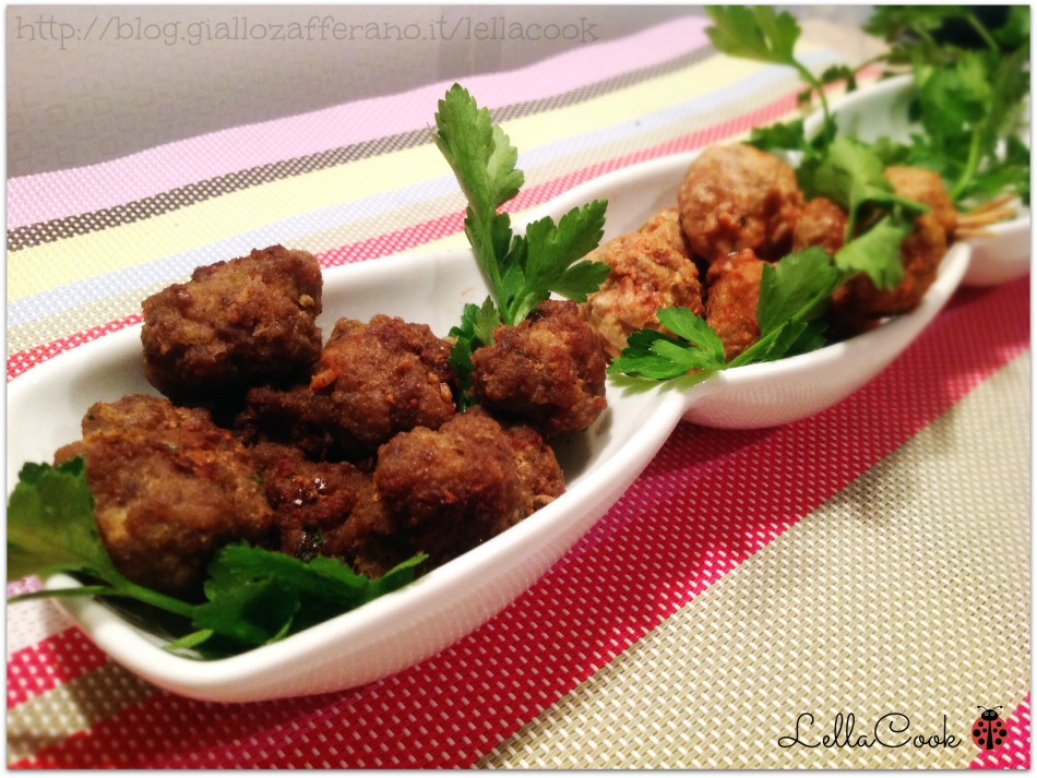 Polpette di carne fingerfood