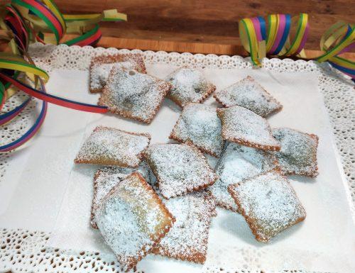 Tortelli di Carnevale fritti o Turtlitt