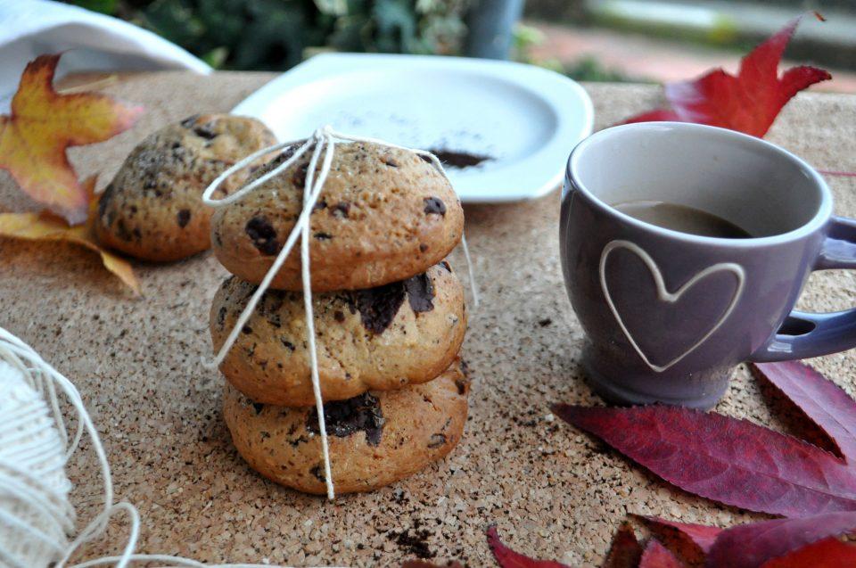 Biscotti rustici al caffè e cioccolato