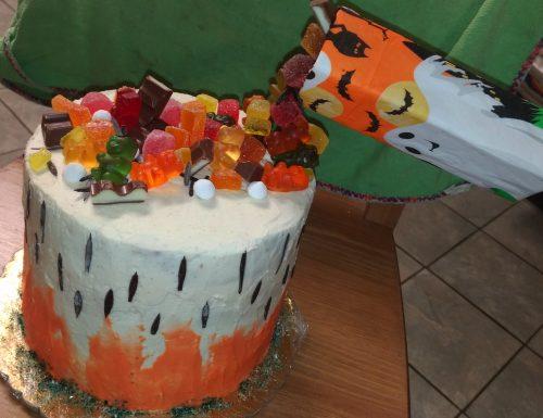 Torta Gravity-cake di Halloween