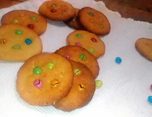Cookies colorati di carnevale