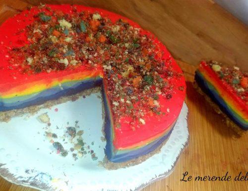 Ckeesecake arcobaleno – Rainbow cheesecake