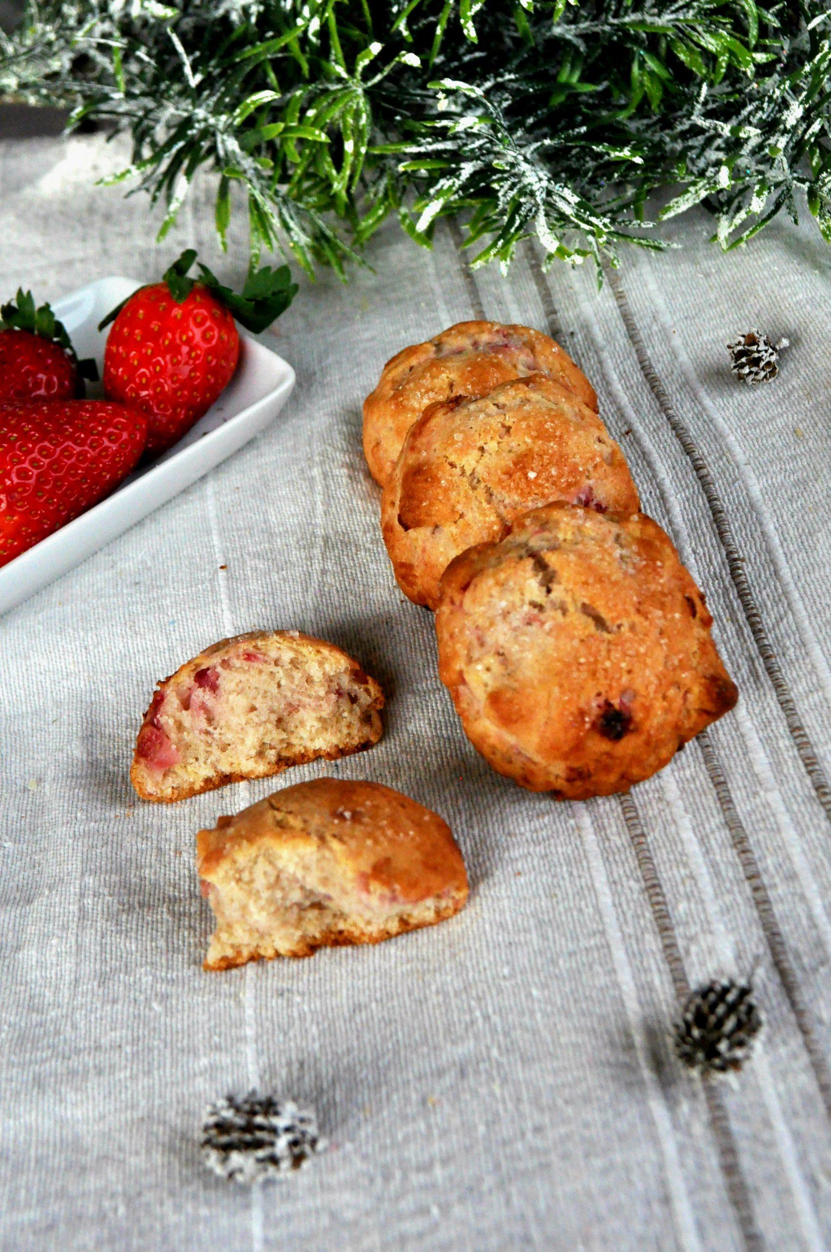 Cookies alle fragole fresche