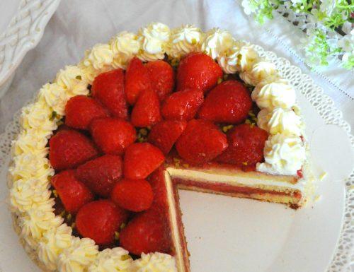 Torta regale alle fragole