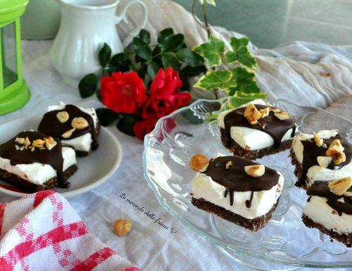 Cheesecake finger vaniglia e nocciole