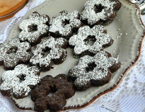 Biscotti canestrelli al cacao
