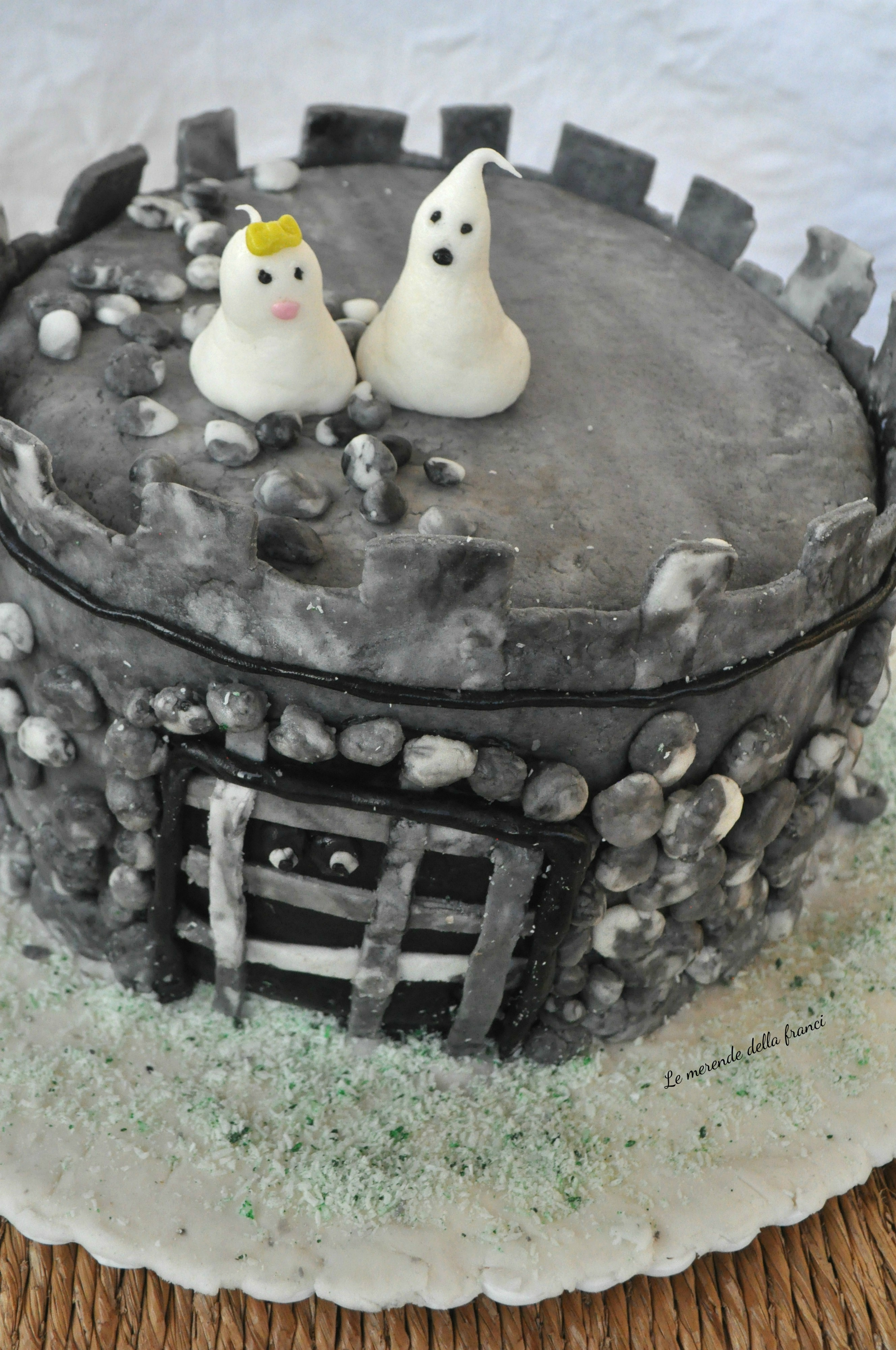 torta castello del fantasma