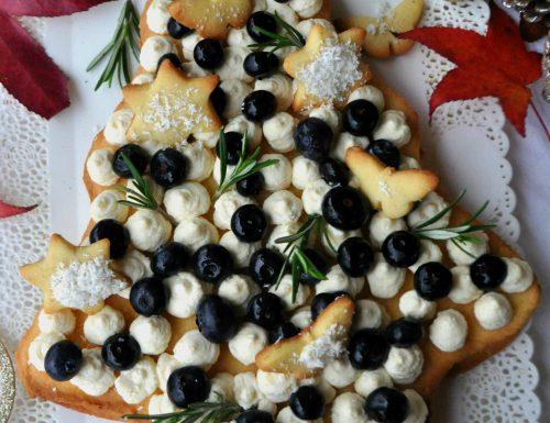 Cream tarte natalizia senza glutine