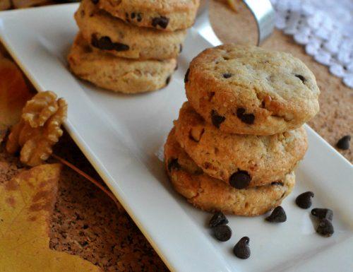 Biscotti noci e cioccolato