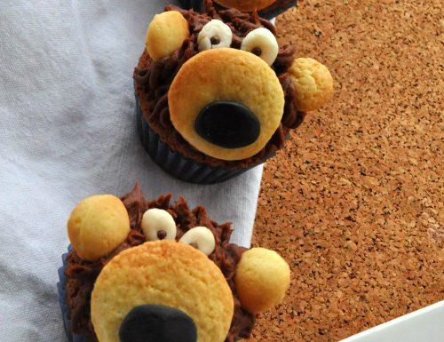 Cupcake orsetto al cioccolato