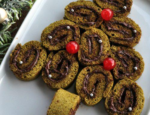 Albero di biscuit al tè verde
