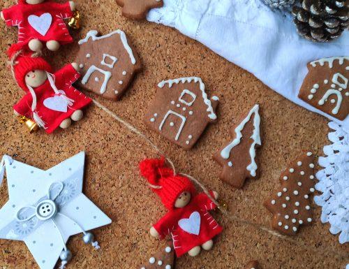 Biscottini natalizi cacao e nocciole