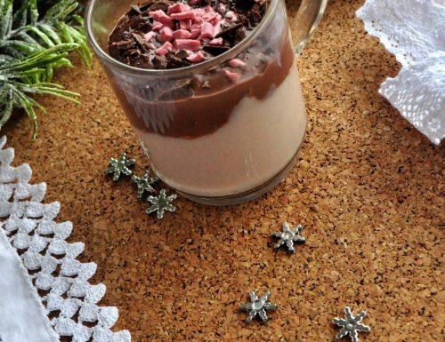Cioccolata bi-color natalizia
