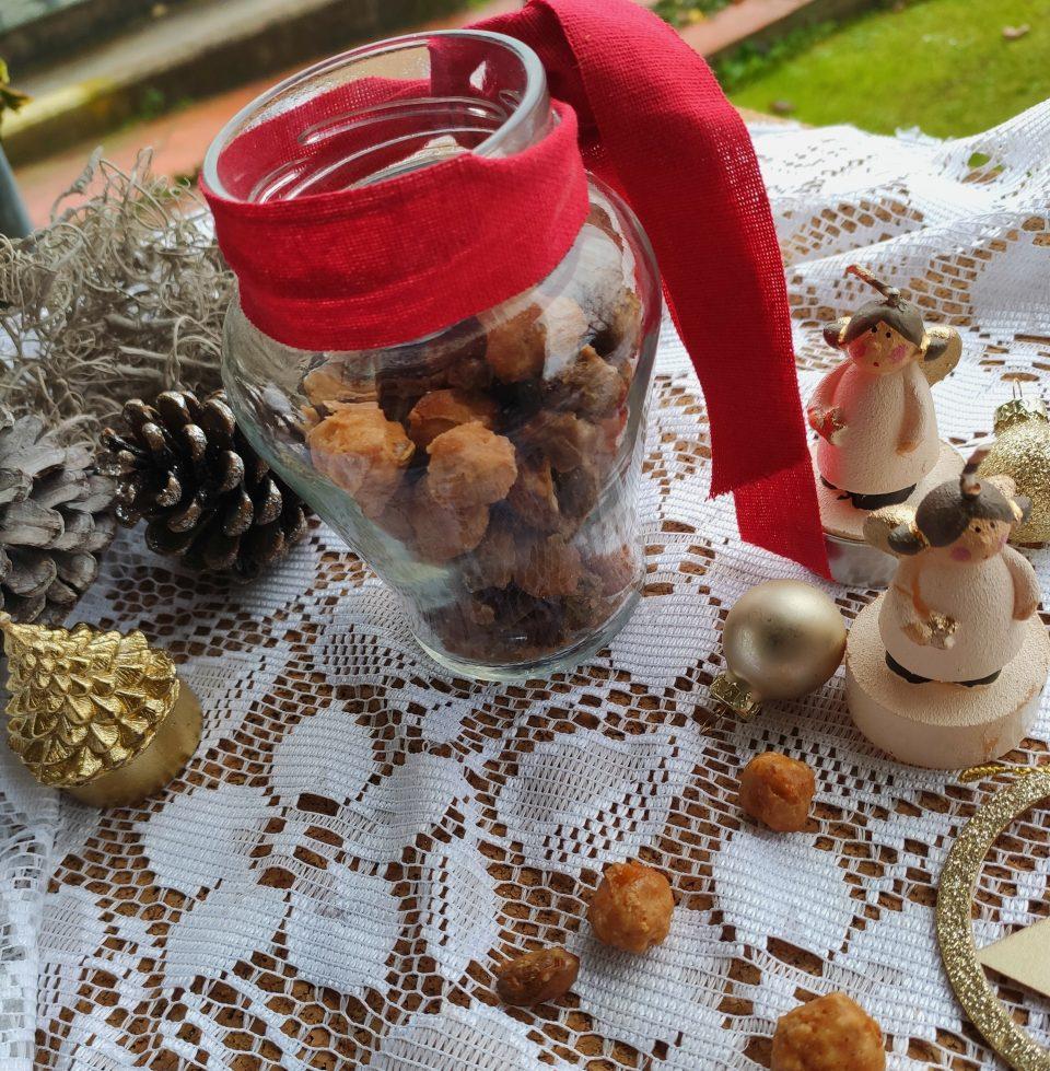 Nocciole e pistacchi pralinati home-made