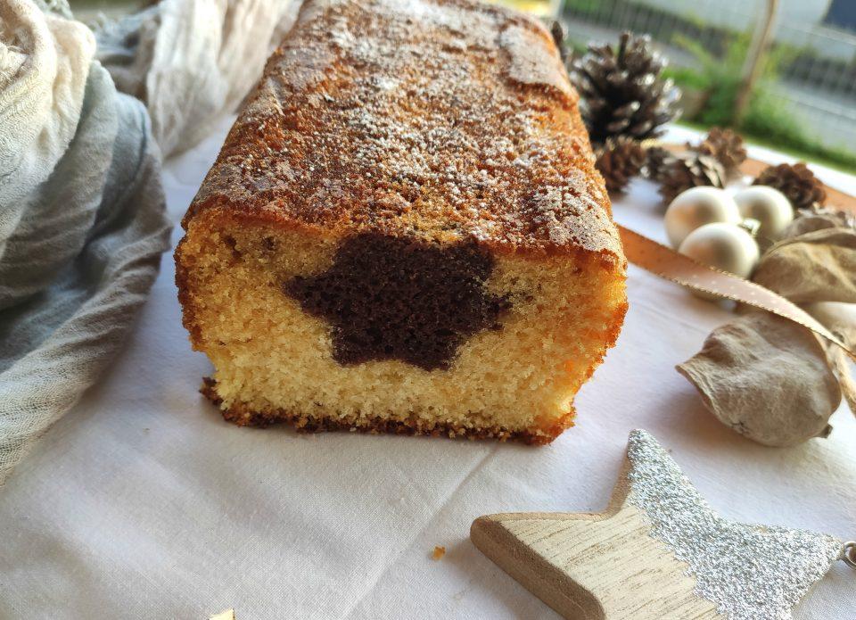 Plumcake senza glutine stellato