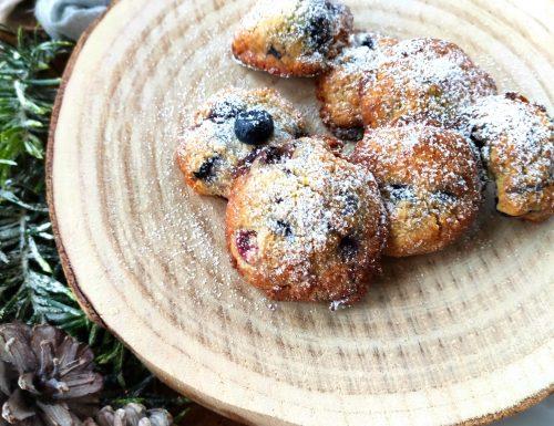Biscotti ai mirtilli senza glutine