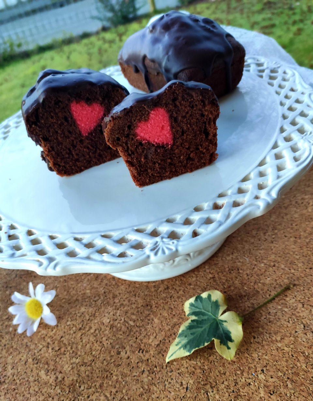 Mini plumcake di San Valentino