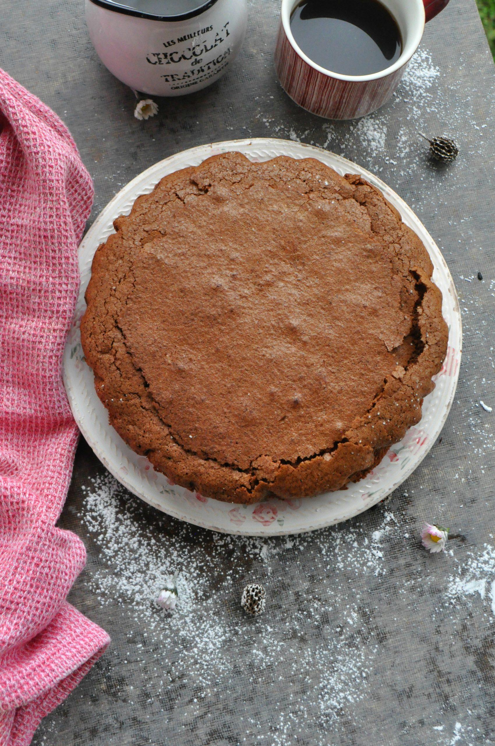 Torta cioccolato fecola e albumi