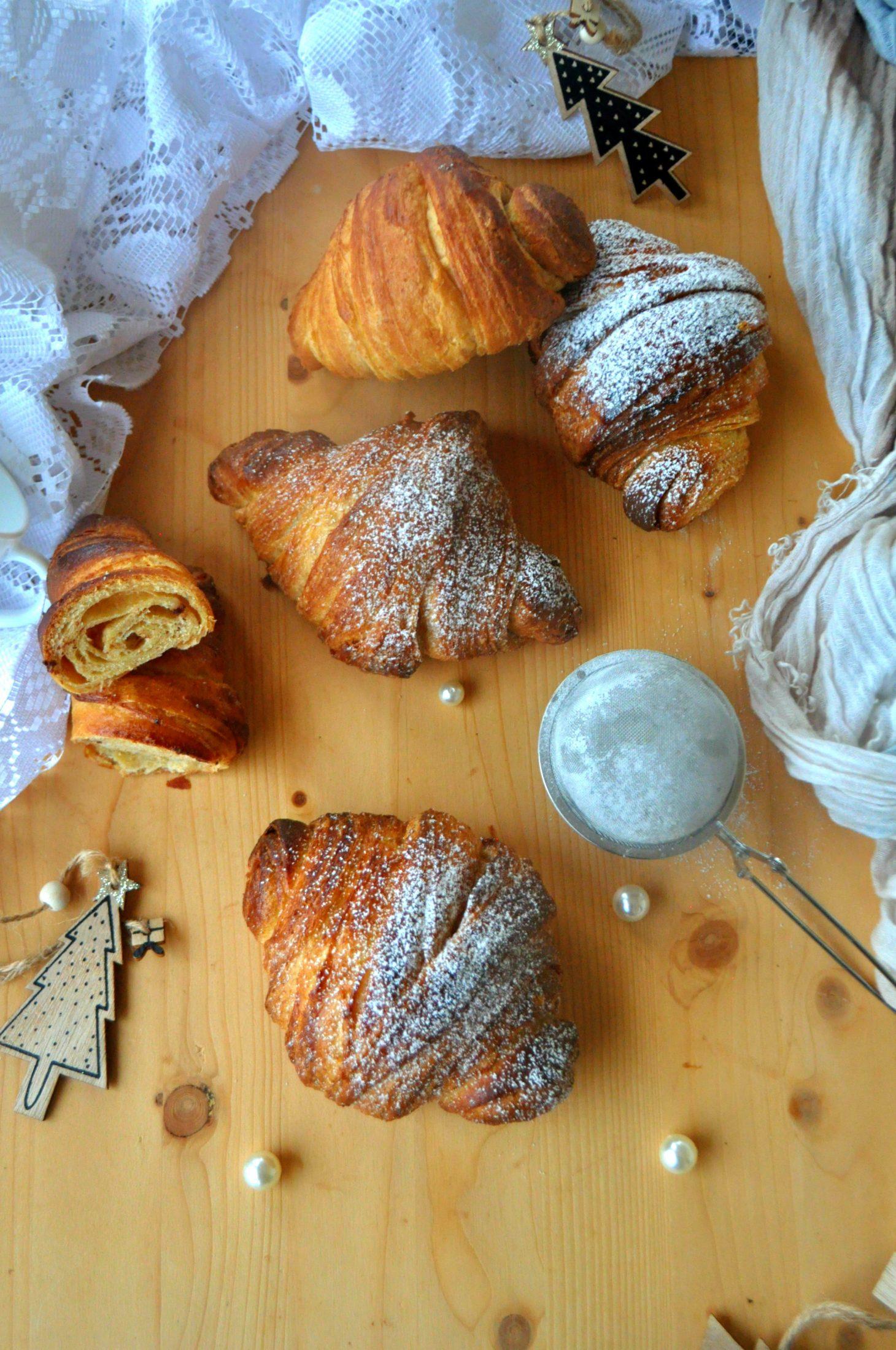 Croissant sfogliati semintegrali
