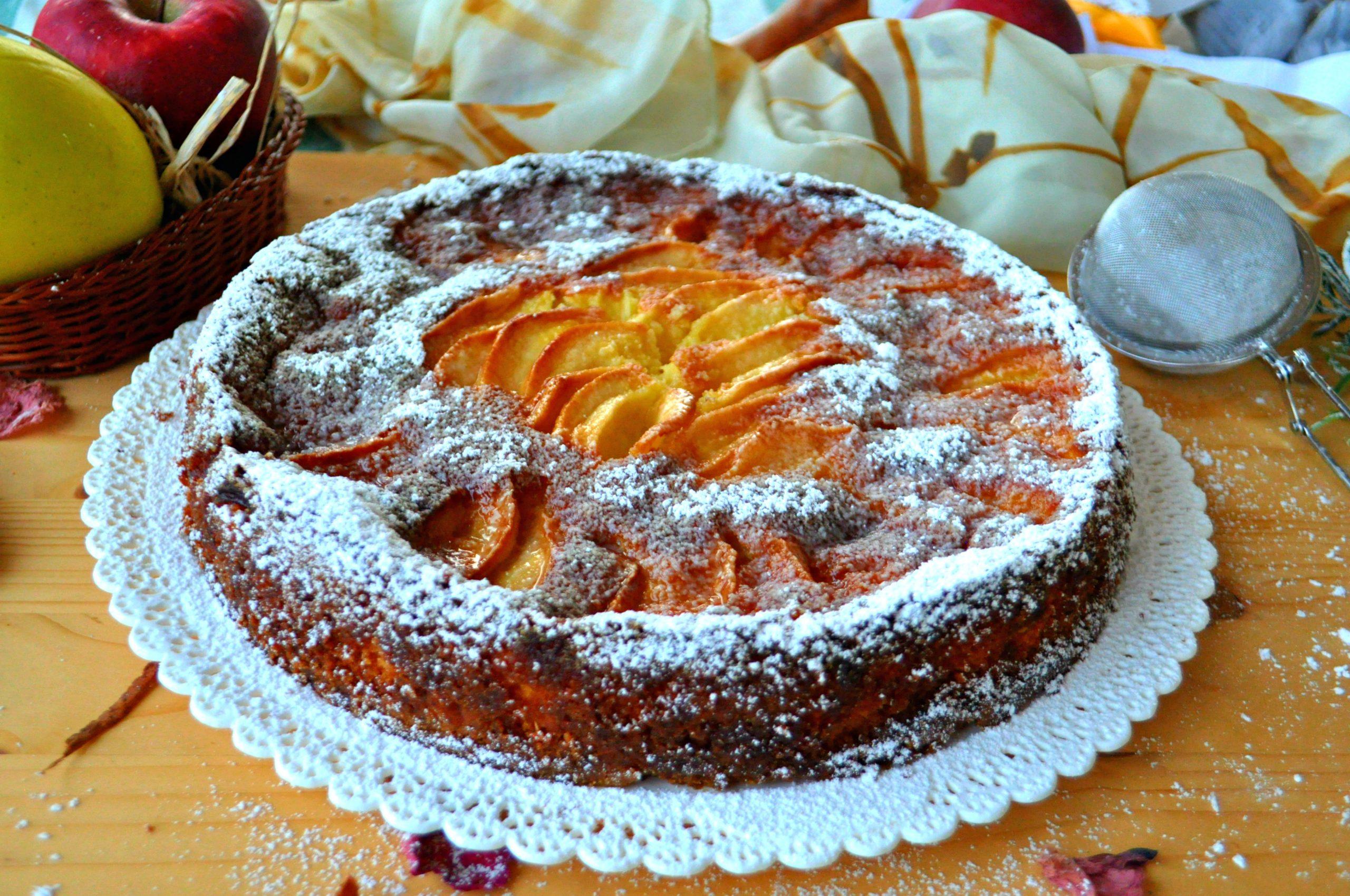 Torta morbida alle mele senza glutine