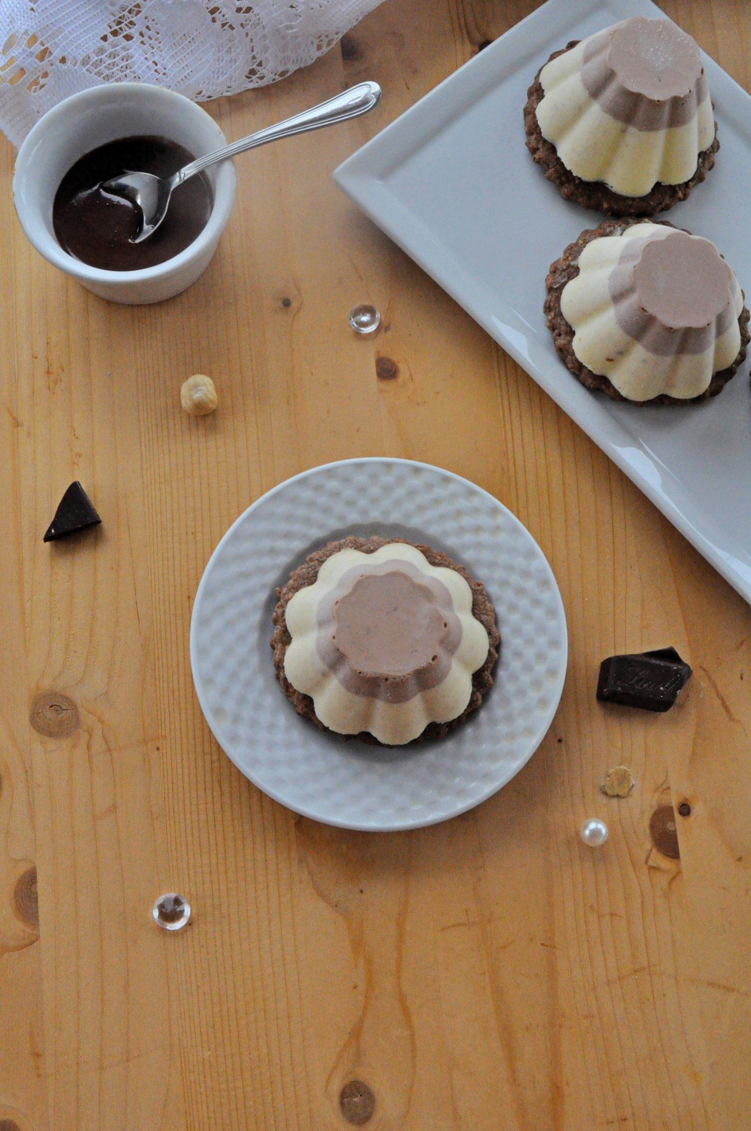 Monoporzioni nocciola e cioccolato